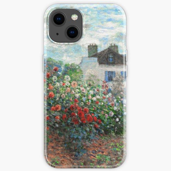 Claude Monet Künstlergarten Argenteuil Fine Art iPhone Flexible Hülle