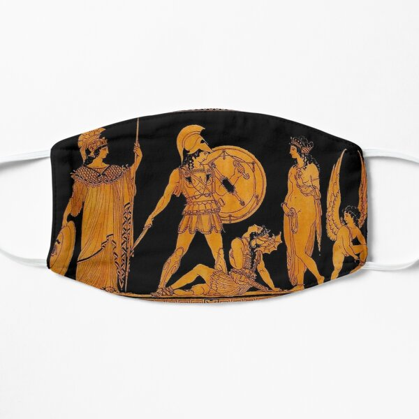 GREECE : Ancient God and Goddess Frieze Print Mask