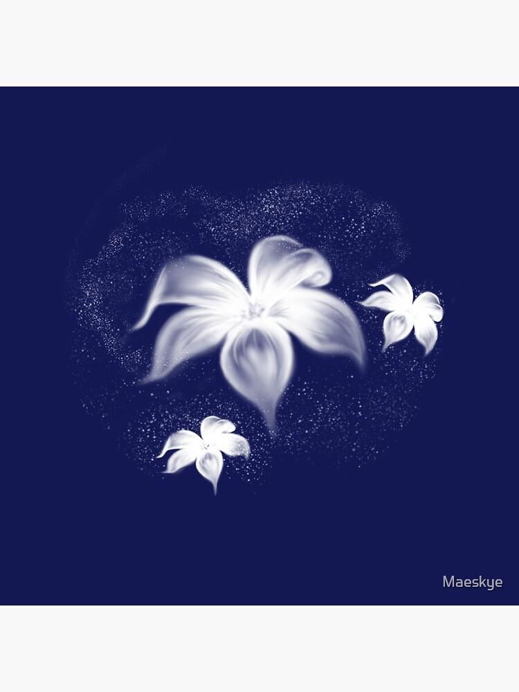 Moon Flowers by Maeskye