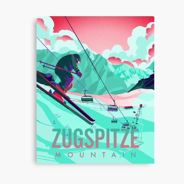 Zugspitze Mountian Canvas Print