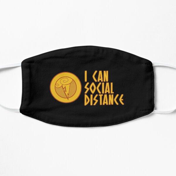 Hercules - I Can Social Distance Flat Mask
