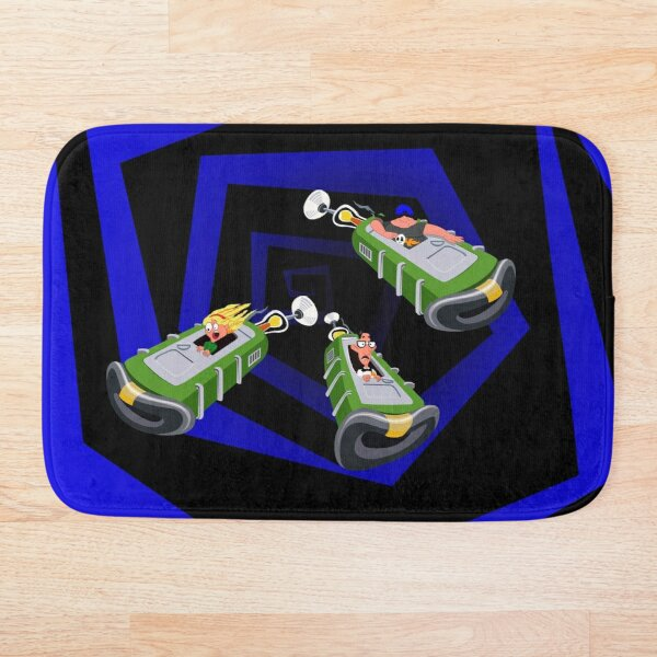 Day of the Tentacle - Time Machine  Bath Mat