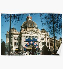 Flinders st Station 19540500 0000 Poster