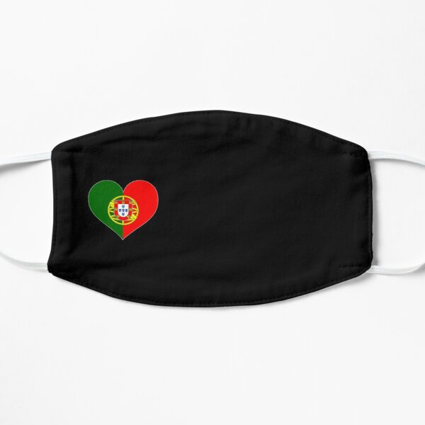 Portugal Heart Flag Face Mask Mask