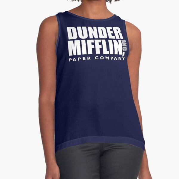 The Dunder Office Mifflin Inc. Design, T-Shirt, tshirt, tee, jersey, poster, Original Funny Gift Idea, Dwight Best Quote From Sleeveless Top