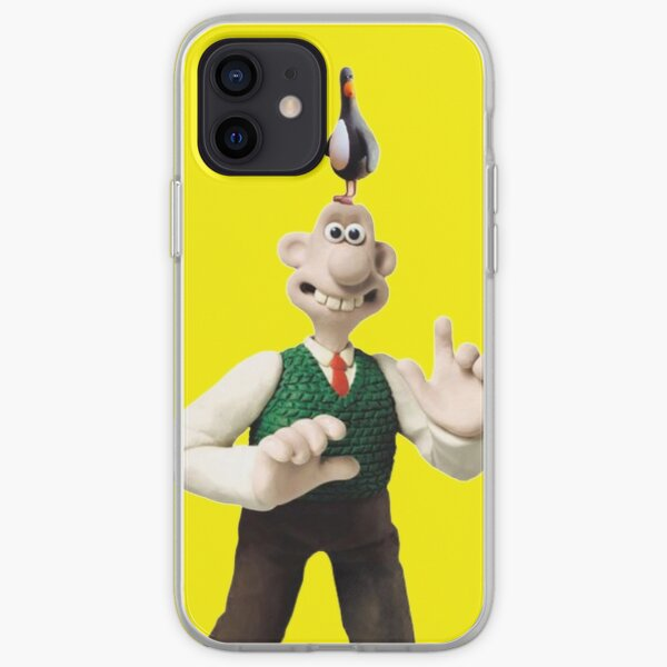Wallace and Feathers McGraw penguin  iPhone Soft Case