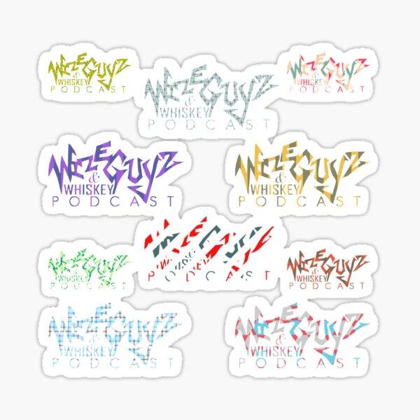 WIZE SAMPZ Sticker