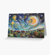 Wise Men on a Journey Greeting Card