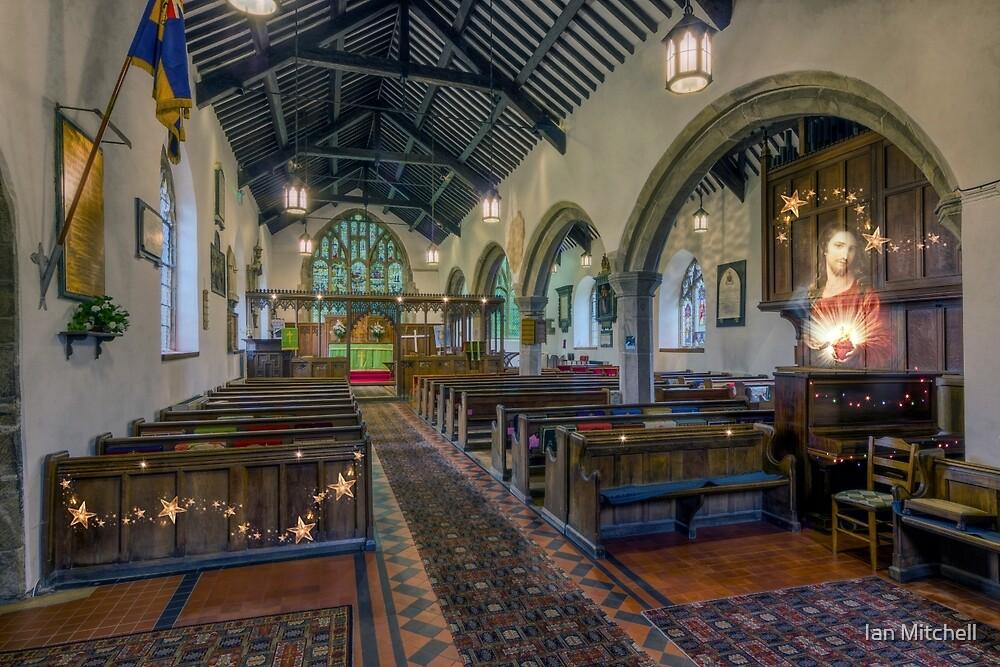 Christmas Church by Ian Mitchell