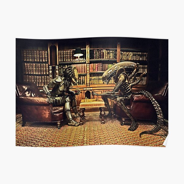 Predator Versus Alien Game II Poster