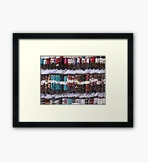 A multitude of bracelets Framed Print