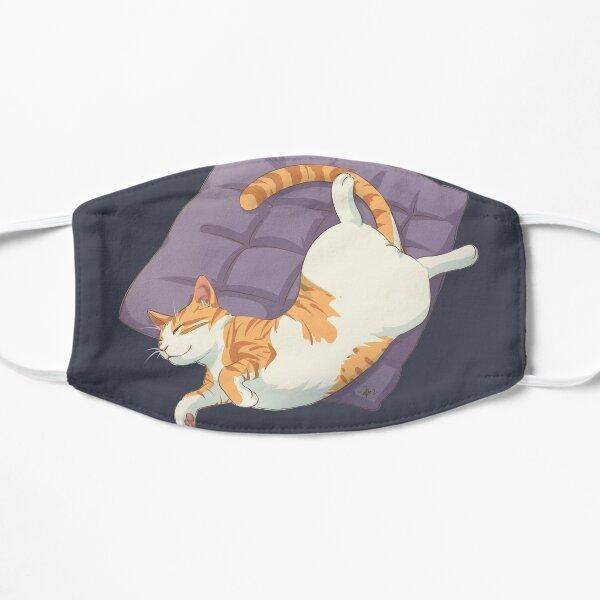 Sleeping Cat Orange Tabby Mask