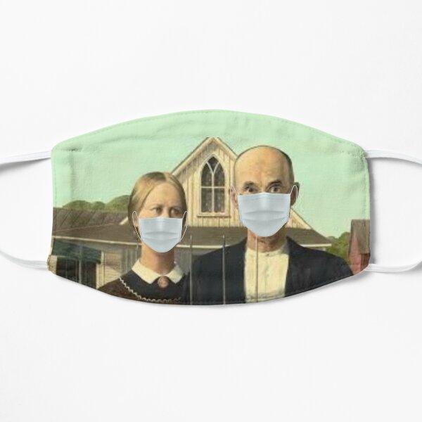 American Gothic Coronavirus Mask Flat Mask