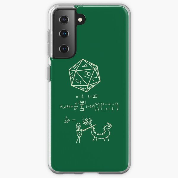The science of 20 sided dice. Samsung Galaxy Soft Case