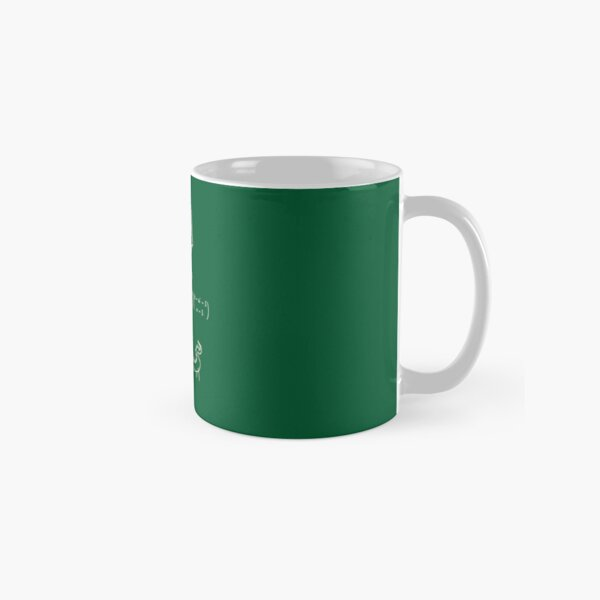The science of 20 sided dice. Classic Mug