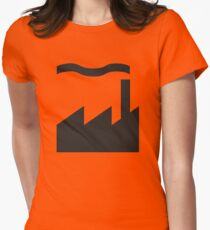 Factory Records Women's Fitted T-Shirt