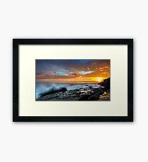 The Salida del Sol Framed Print