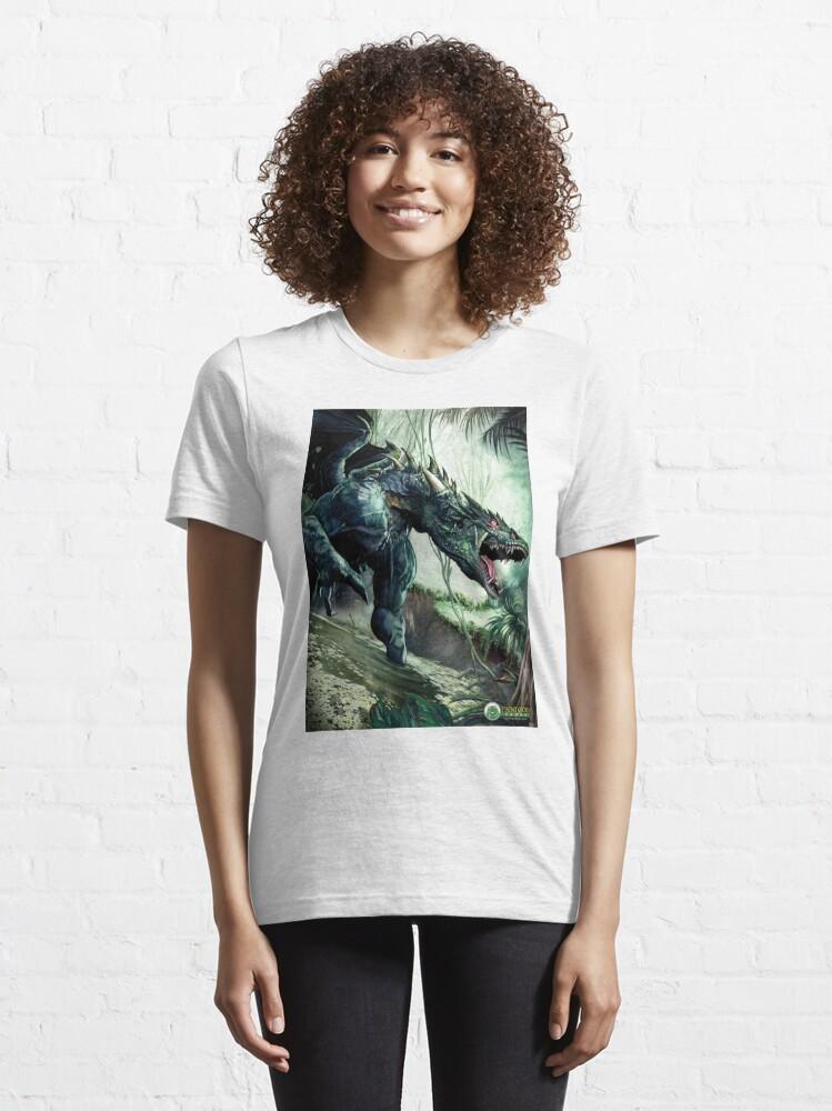 Alternate view of Grimmsgate Dragon Essential T-Shirt