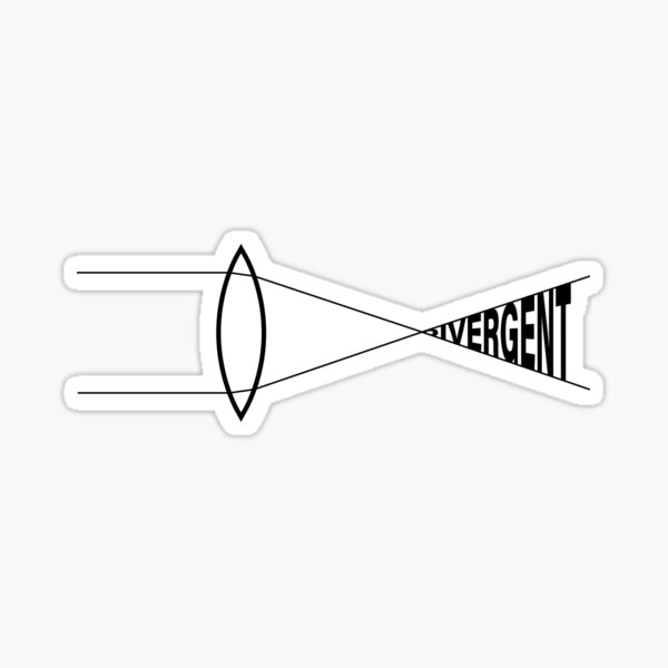 Divergent Thinking Stickers | Redbubble