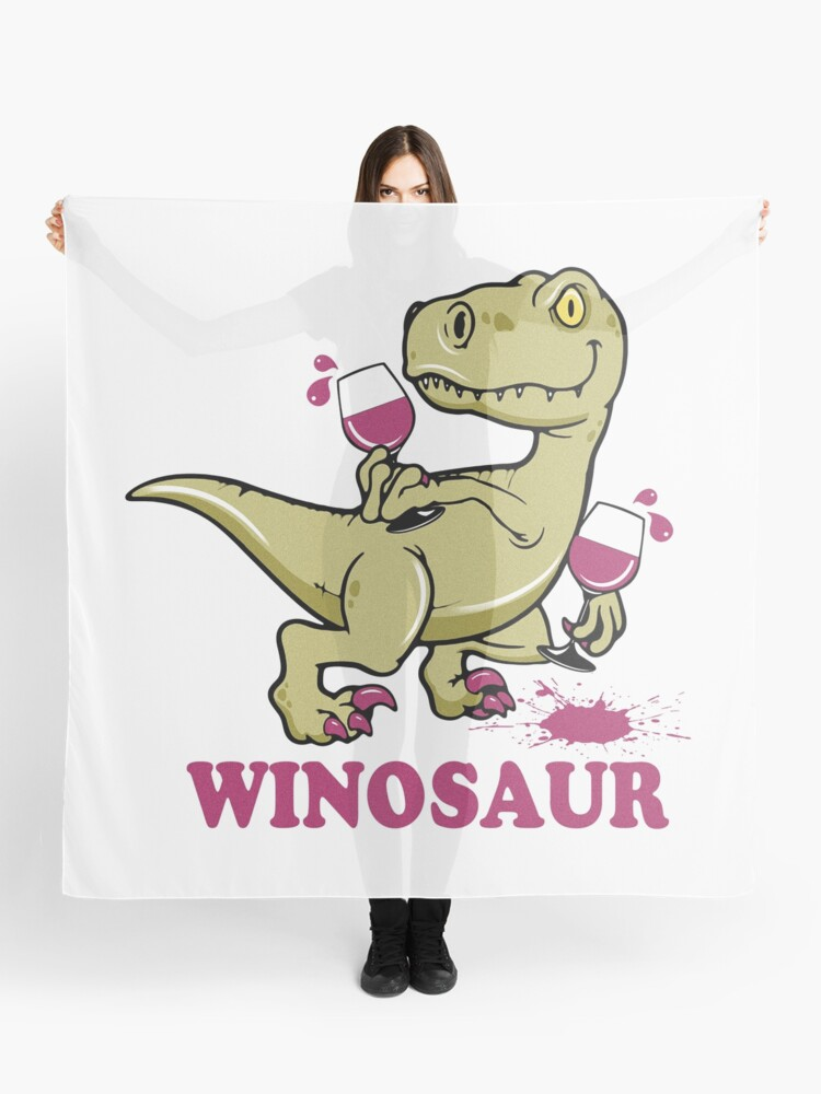 Winosaur Scarf By Trueblue2 Redbubble