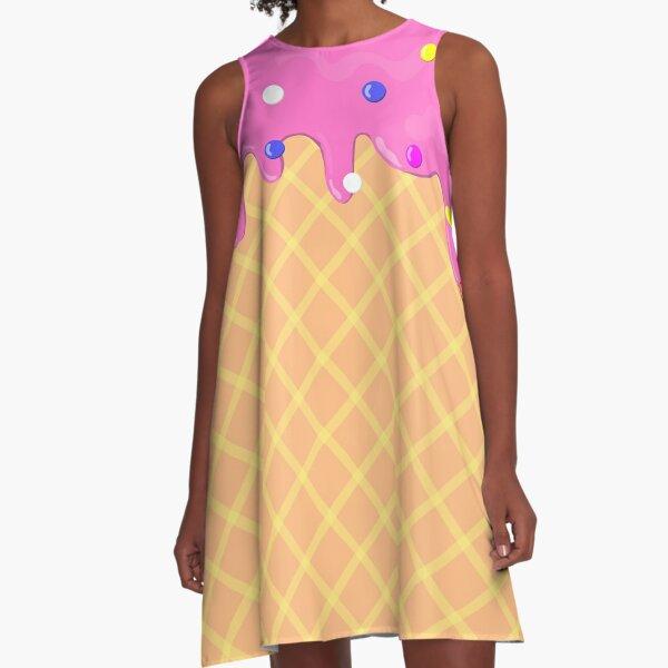 I scream for Ice Cream!!! A-Line Dress
