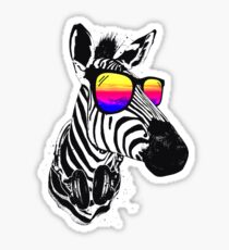Cool Zebra Sticker