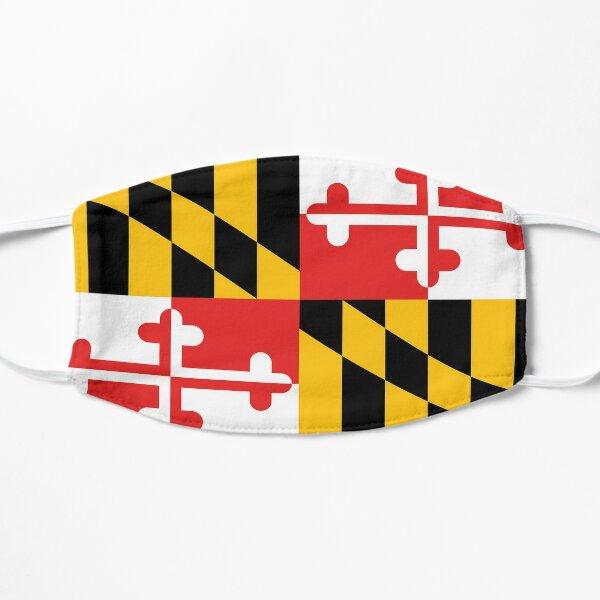 Maryland State Flag Art Design Banner Flat Mask