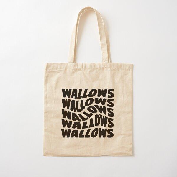 black wallows swirl design Cotton Tote Bag