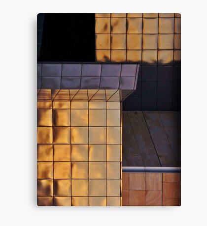 bits of buildings Canvas Print