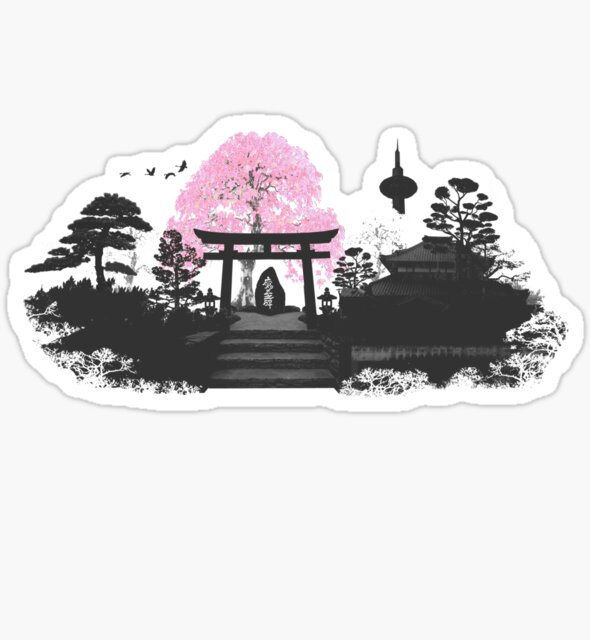 Sakura - Kyoto Japan by Rob Price