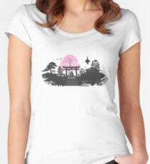 Sakura - Kyoto Japan Women's Fitted Scoop T-Shirt
