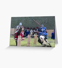 Abbey Medieval  Festival 2012  1 Greeting Card