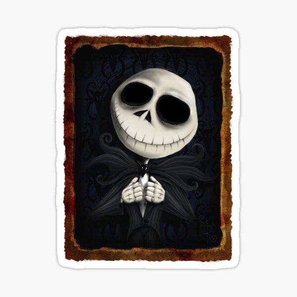 the pumpkin king - jack skellington Sticker