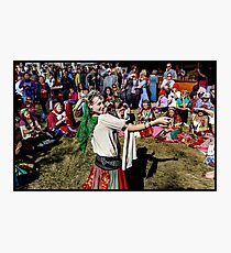 Abbey Medieval Festival 2 Photographic Print