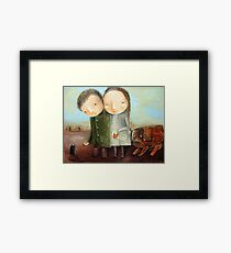 Superstitious Framed Print
