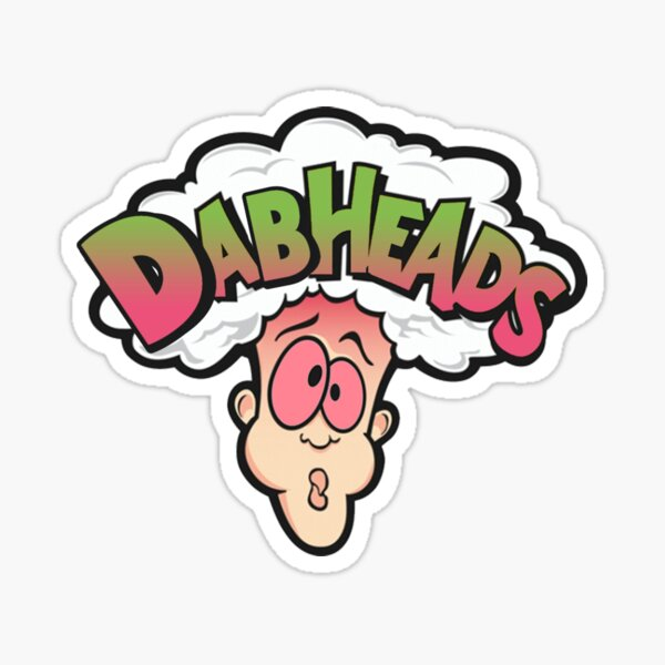 Dabheads Candy Sticker