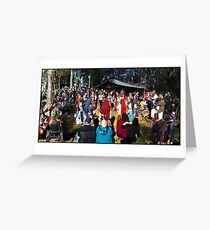 Abbey Medieval Festival 3 Greeting Card