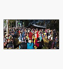 Abbey Medieval Festival 3 Photographic Print