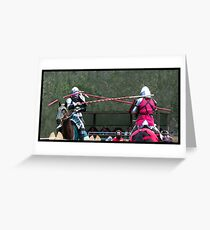 Abbey Medieval Festival 4 Greeting Card