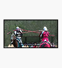 Abbey Medieval Festival 4 Photographic Print