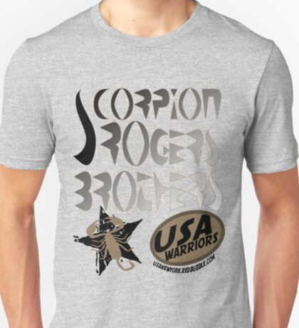 scorpion usa warriors by rogers brothers T-Shirt
