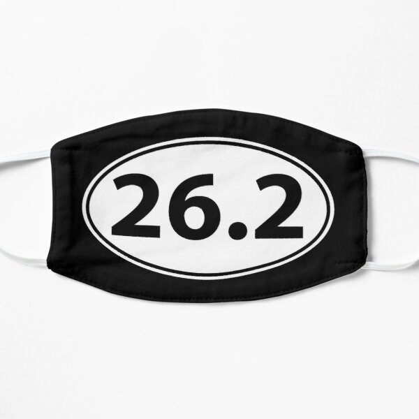 Runner Gifts for Men & Women - 26.2 Marathon Runner Sticker Oval Decal Gifts - 26 2 Gift Ideas for Runners Who Love Running Marathons & Jogging Mask