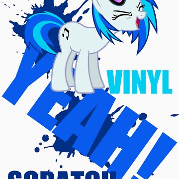 Vinyl scratch by kidomaga