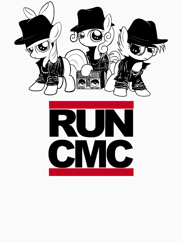 TShirtGifter presents: RUN CMC T-shirt (white) | Unisex T-Shirt