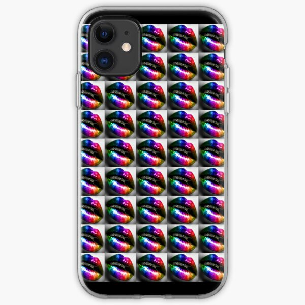 """""""Zips and Lips"""" - phone iPhone Soft Case"""