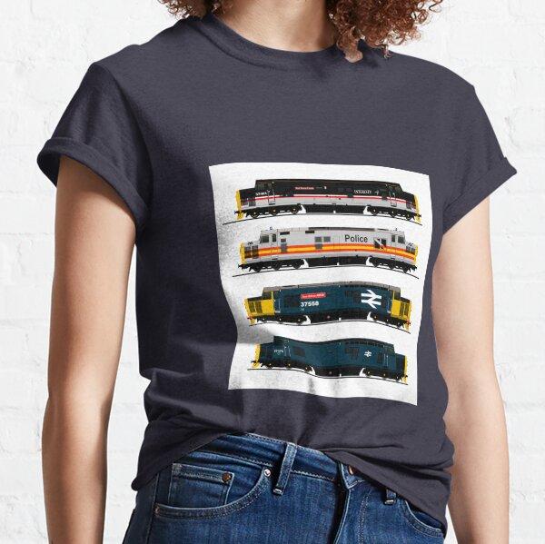 CLASS 37 LOCOMOTIVES Classic T-Shirt