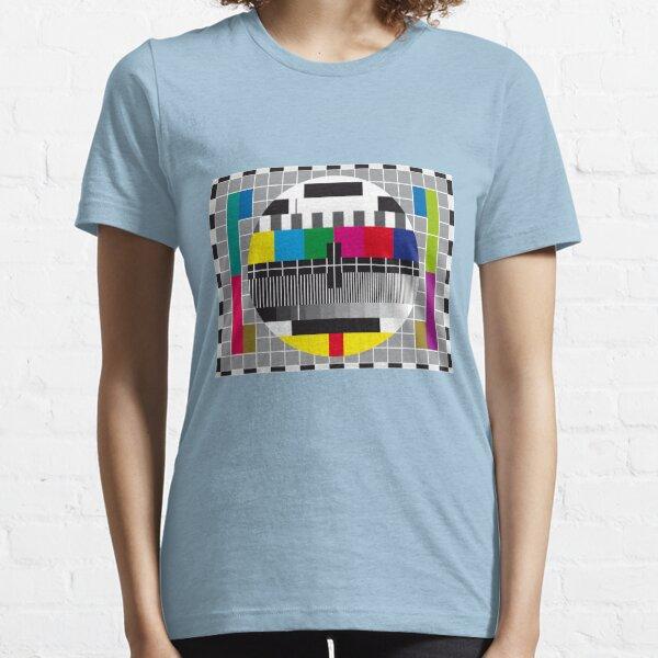 TV transmission test card Essential T-Shirt