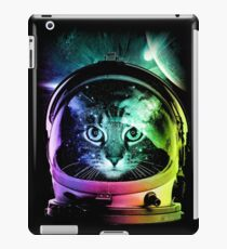 Astronaut Cat V.II iPad Case/Skin