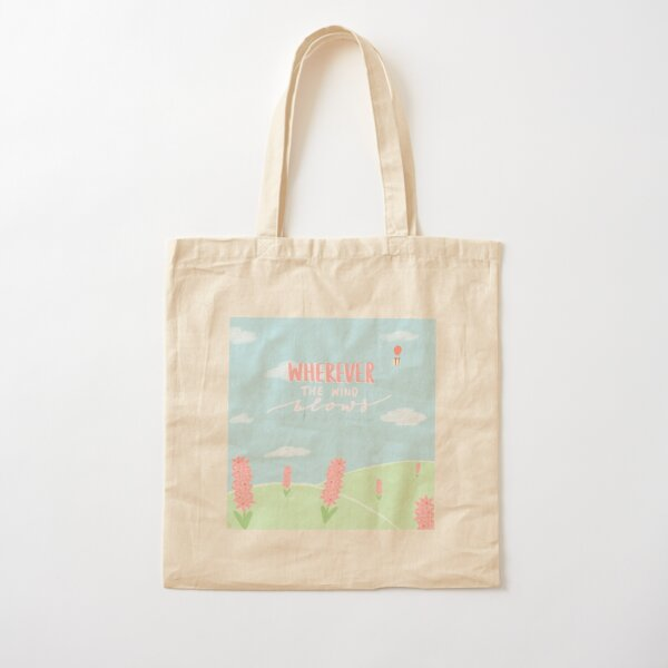 Sac fourre-tout Hyacinth Field Tote bag classique