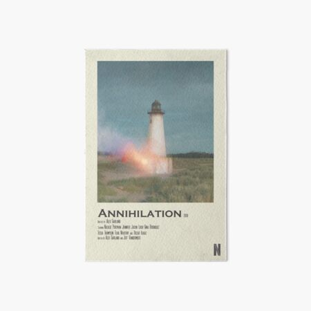 Annihilation Polaroid Poster Art Board Print